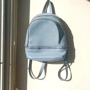 Sportsgirl Blue Mini Backpack
